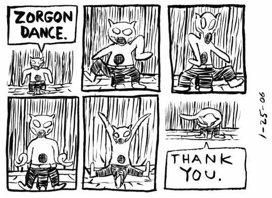 Before Sleep #103: ZORGON DANCE