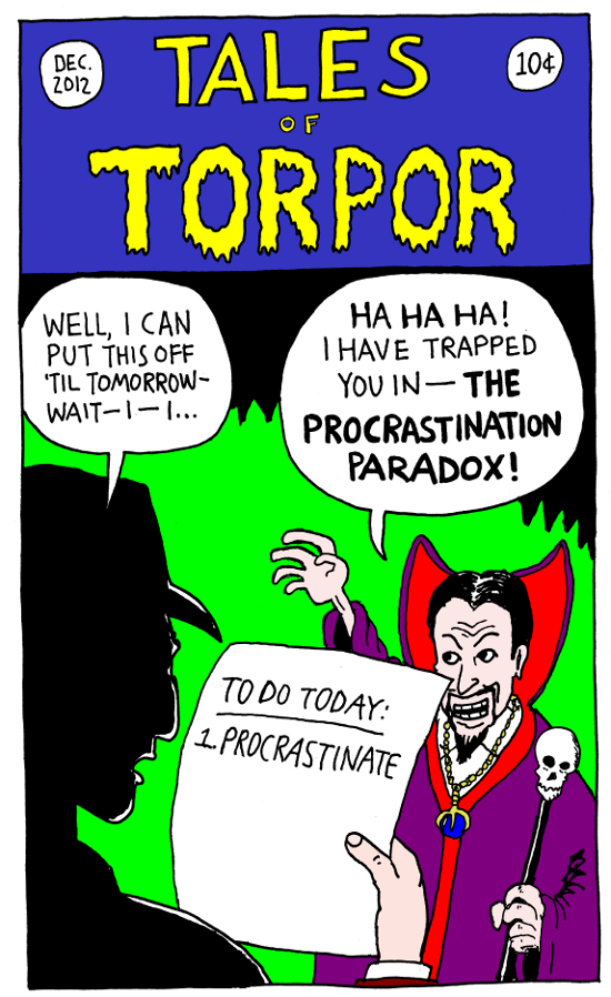 The Procrastination Paradox