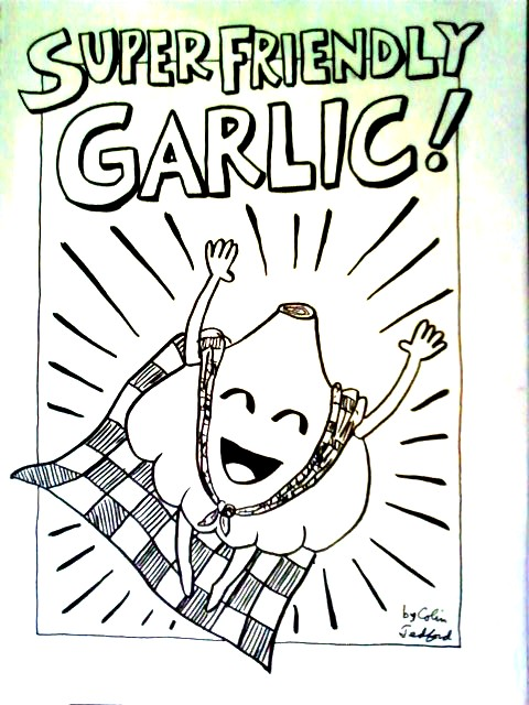 Super Friendly Garlic 1