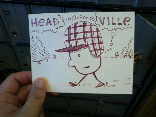 Headville postcard by JB Winter