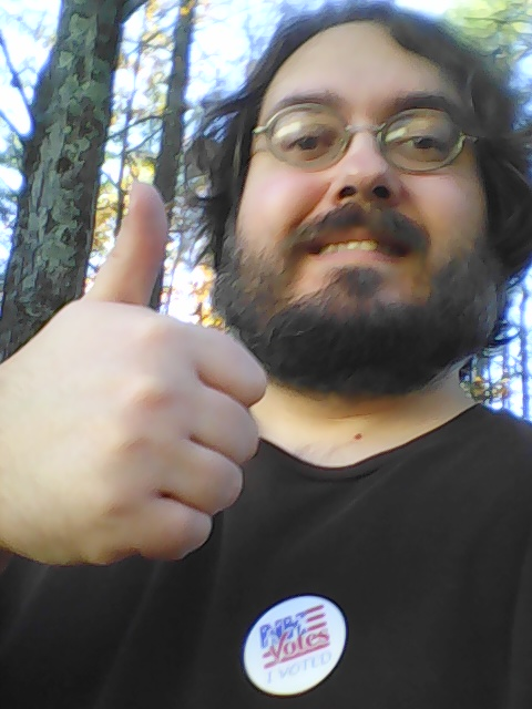 I voted today and so can you!