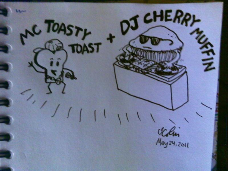 MC Toasty Toast & DJ Cherry Muffin