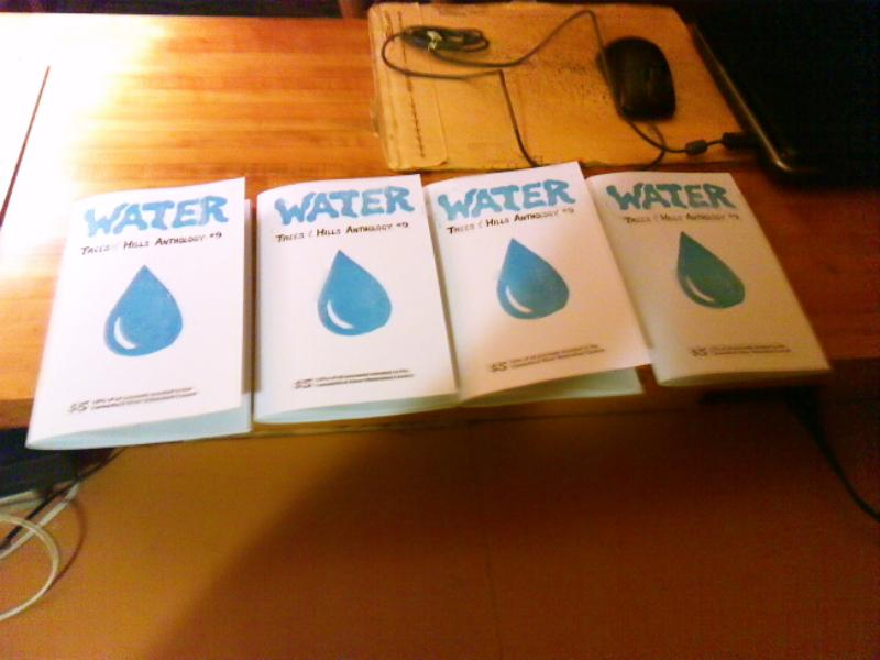 """For copies of the Trees and Hills comics anthology """"Water"""""""