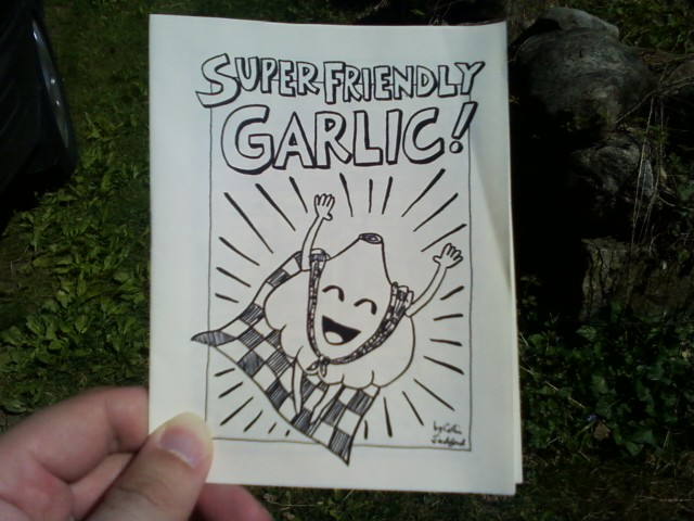Zero 1 - Super Friendly Garlic cover