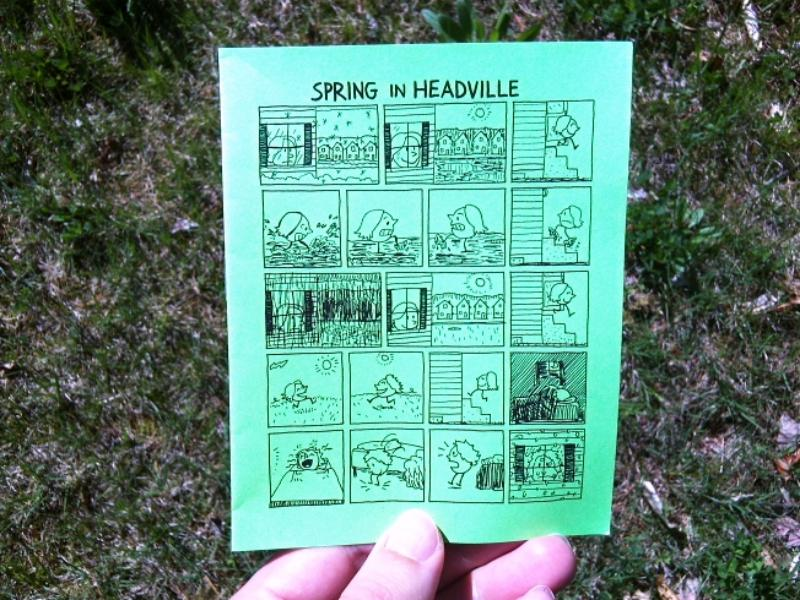 Zero #5 - Spring in Headville (a minicomic)