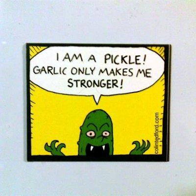 Vampire Pickle magnet
