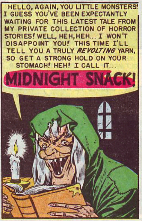 "The Vault-Keeper introduces ""Midnight Snack"""
